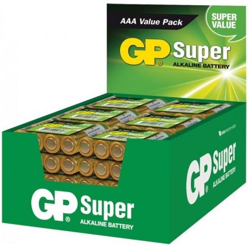 Expositor de pilas alcalinas AAA/LR03 1.5 V Super 48 packs de 4 pcs