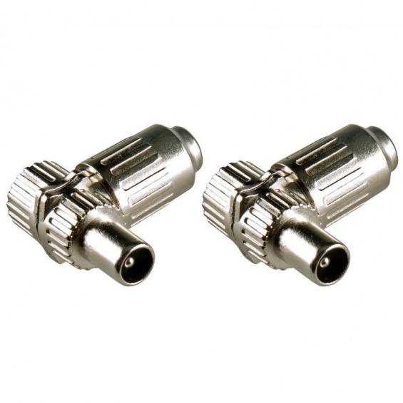 Conectores coaxiales IEC macho