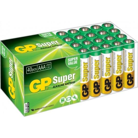 Super Alkaline box 40 AAA