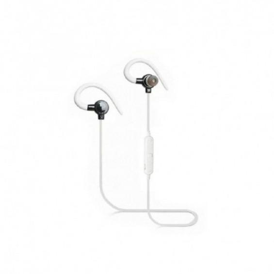 Auriculares Bluetooth Deportivos Soundeluxe Blancos