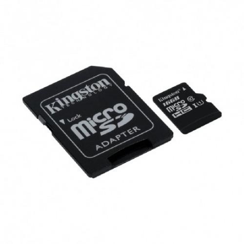Memoria Flash MicroSD Kingston de 16Gb