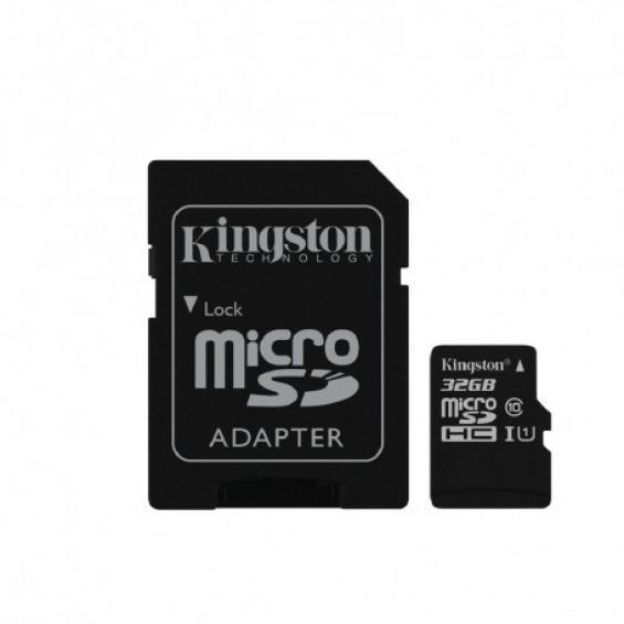 Memoria Flash MicroSD Kingston de 32Gb