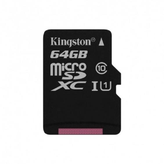 Memoria Flash MicroSD Kingston de 64Gb