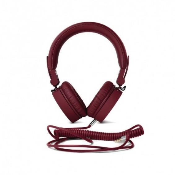 Auriculares Diadema 3.5 mm con micrófono color ruby