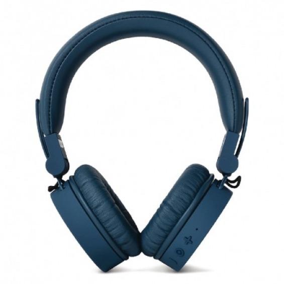 Auriculares inalámbricos Bluetooth con micrófono color índigo