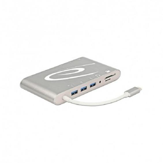 Dock USB Type-C™ 3.1 multi conexión USB+LAN+VGA