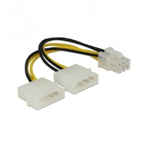 Cable de alimentación de 2 x Molex aPCI Express 6