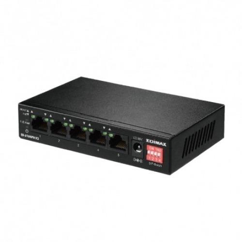 Edimax ES-5104PH V2 Switch 5x10/100Mbps 4xPoE+