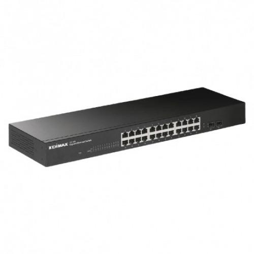 Switch enrakable Gigabit / 10/100 Mbit 24-Port