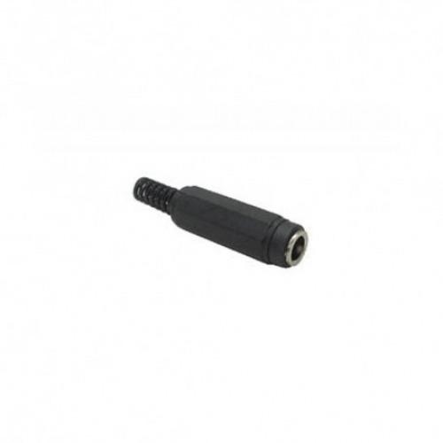 Conector de plástico para Soldar 5.5x2.1mm hembra