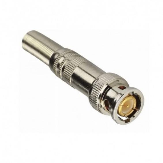 Conector BNC con rosca para Cable RG58 o RG59
