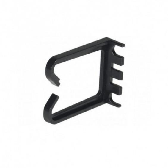 Pack de 2 anillas laterales organiza cables de 1U