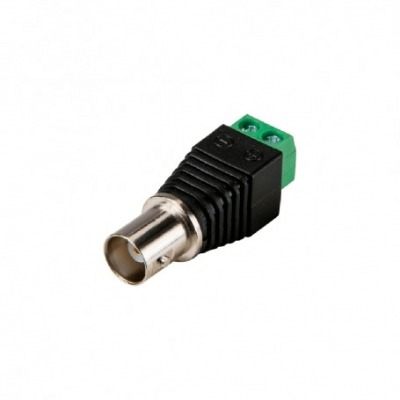 Conector Bnc Safire Hembraconector Safire - Bnc Hembra - Salida +/ De 2 Terminales - 40 Mm