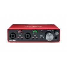 Focusrite Scarlett 2i2 3rd Gen Interface Audio